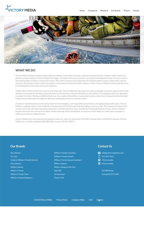 VMI_Website_Landing